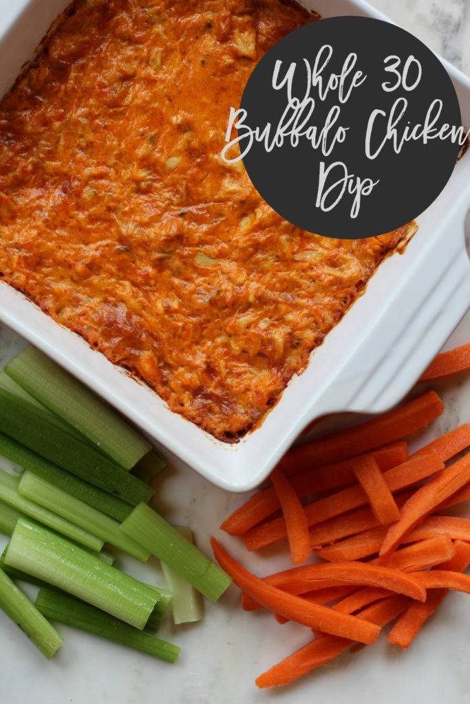 Whole30 Buffalo Chicken Dip