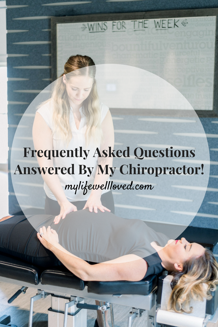 Sharing Answers to you Most Asked Pregnancy Chiropractor Questions on MyLifeWellLoved.com by AL Life + Style Blogger, Heather Brown // #pregnancy #chiropractor #FAQ