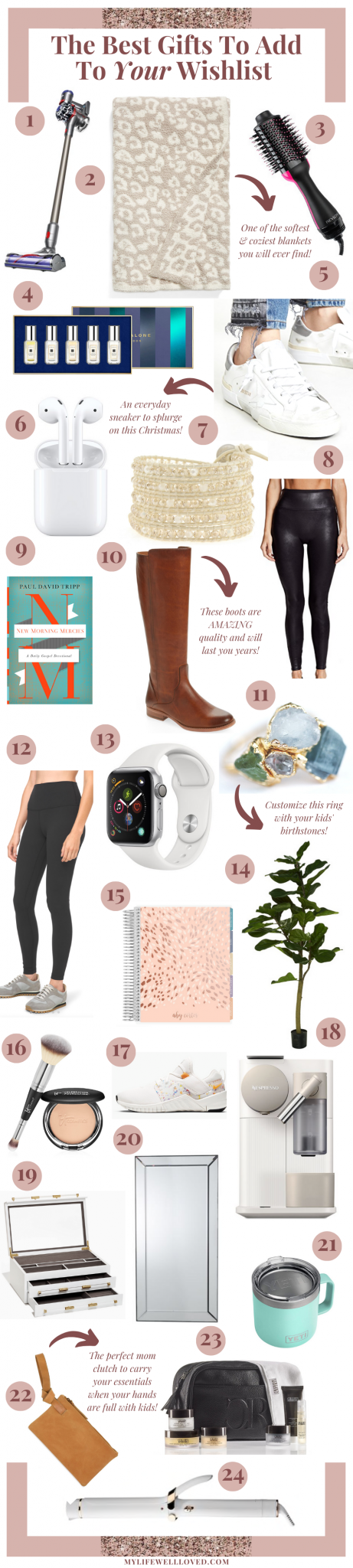 Holiday Gift Ideas For Women & YOUR Wishlist   My Life Well Loved