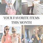 September Ten Best Selling Items