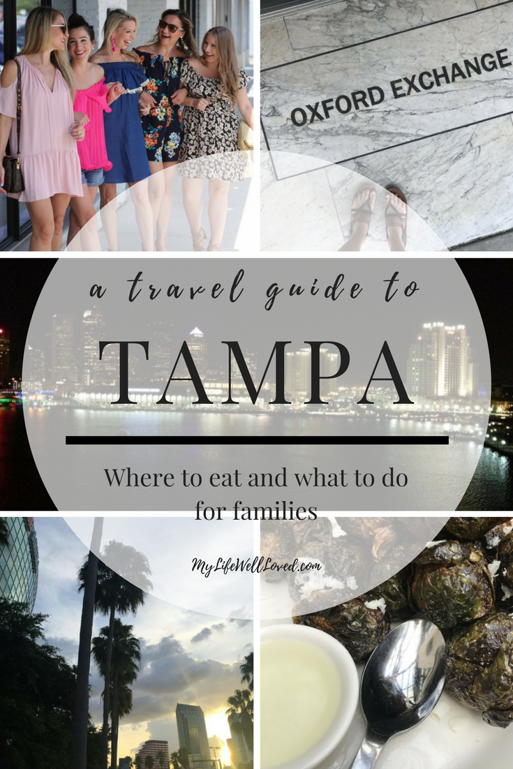 Things to see and do in Tampa Florida: The Oxford Exchange and many other must see sights + mom style floral romper from blogger Heather Brown of MyLifeWellLoved.com