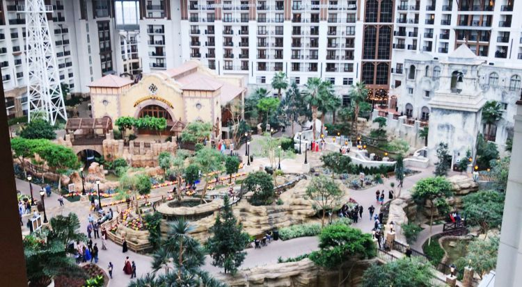 A Complete Dallas Travel Guide featured by top US travel blog, My Life Well Loved: image of women at The Gaylord Texan - where to stay in Dallas