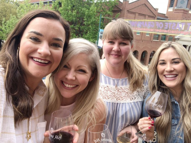 A Complete Dallas Travel Guide featured by top US travel blog, My Life Well Loved: image of Messina Hoff Wine Tasting - what to do in Dallas