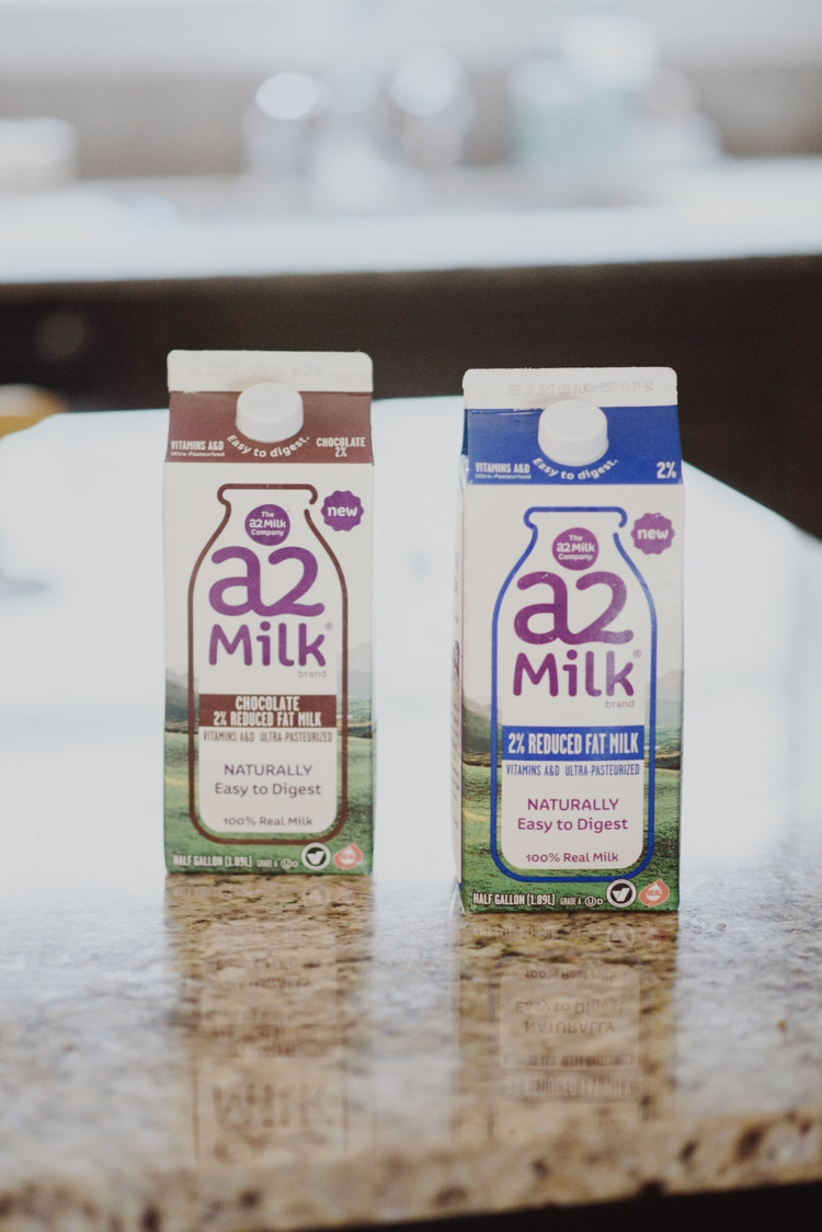 My Favorite Toddler Milk: A2 Milk by AL blogger My Life Well Loved