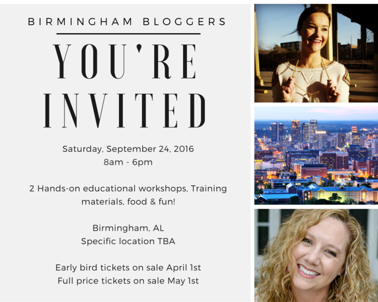 Home Grown Bloggers: birmingham bloggers Invite