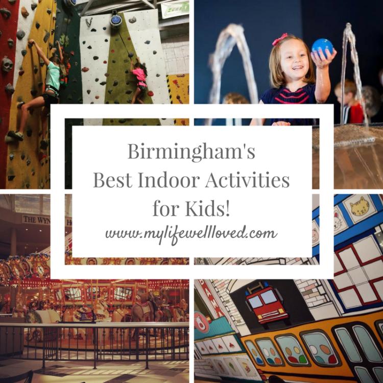 Birmingham's Best Indoor Activities for Kids by Birmingham Healthy Life and Style Blogger, Heather Brown #birmingham #indooractivities #kids #momlife
