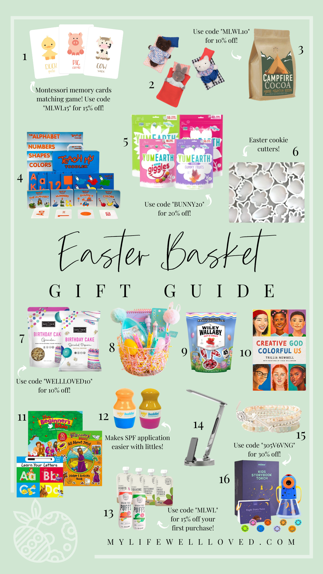 Fun Easter Basket Gift Ideas For Boys And Girls by Alabama Faith + Family blogger, My Life Well Loved // Heather Brown