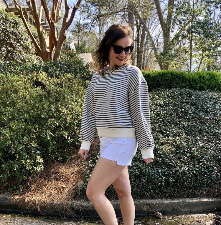 Shopbop Shorts Maternity - 17 Weeks Pregnant