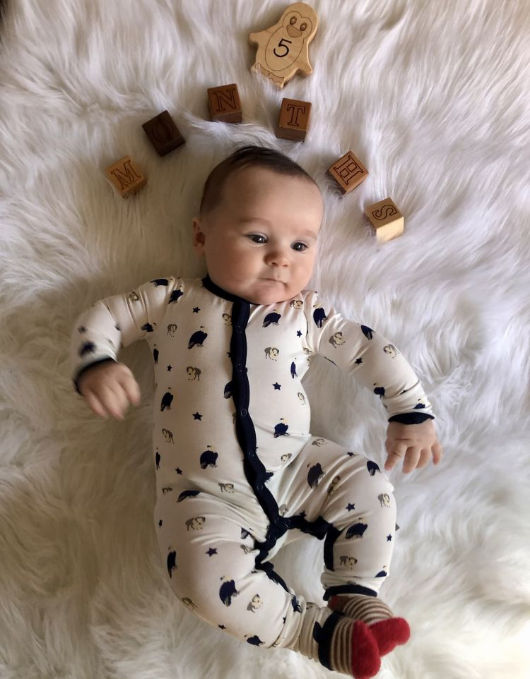 baby milestones by month // 5 Months Old Baby