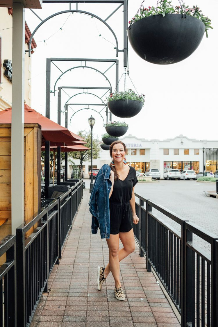 A Complete Dallas Travel Guide featured by top US travel blog, My Life Well Loved: image of a woman at Rise Souffle - where to eat in Dallas