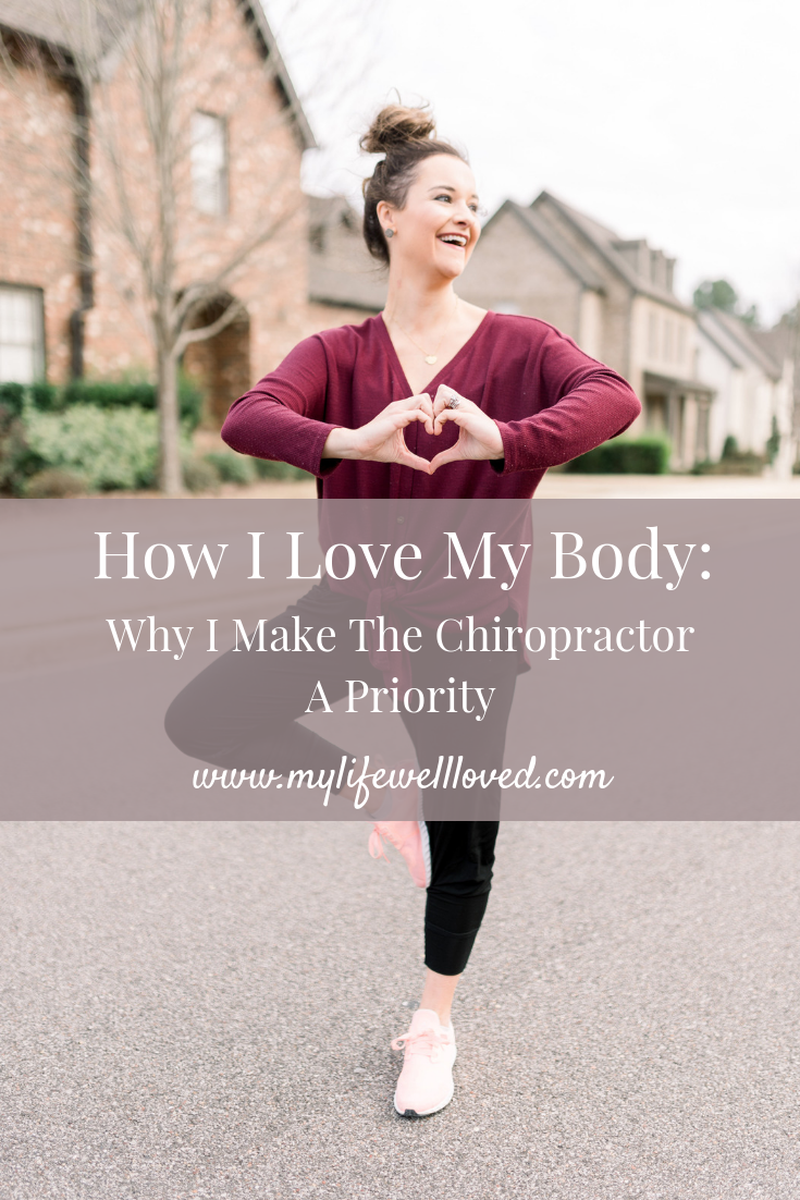Healthy life + style blogger shares the many chiropractic benefits of visiting your chiropractor consistently - by Heather Brown at My Life Well Loved // #chiropractor #chiropracticbenefits #selfcare #bodypositivity