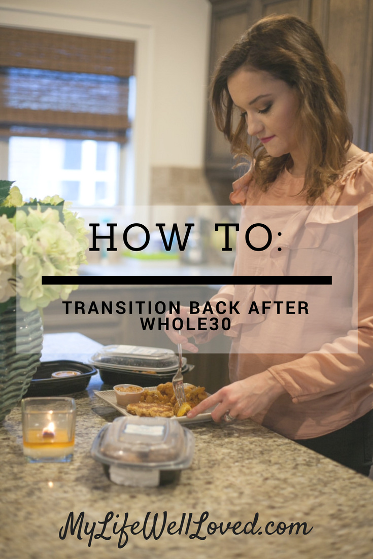 Transition Back After Whole30