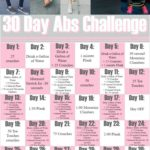 30 Day Abs Challenge: The Bachelorette Workout Game