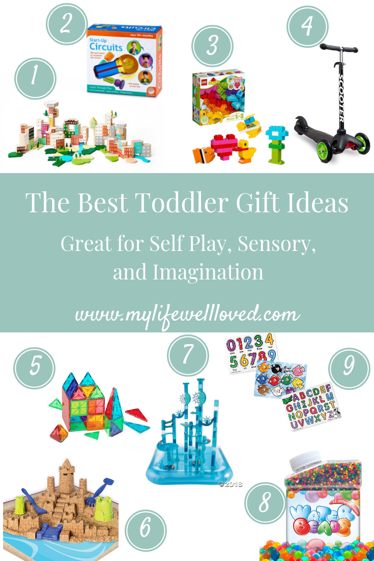 Toddler Gift Ideas from Alabama lifestyle blogger My Life Well Loved // Little boy gifts // little girl gifts // toddler gift ideas