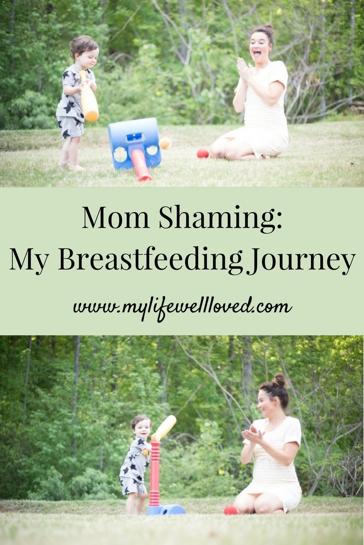 Mom Shame with Alabama mom blogger Heather of MyLifeWellLoved.com / Heather and Leyton - Mom Shaming thoughts shared by popular Alabama lifestyle blogger, My Life Well Loved