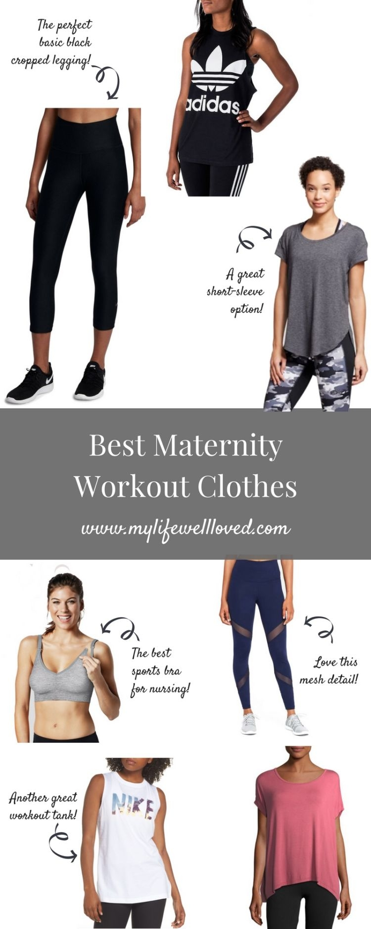 bac4ea640c31b4 The Best Maternity Workout Clothes - My Life Well Loved
