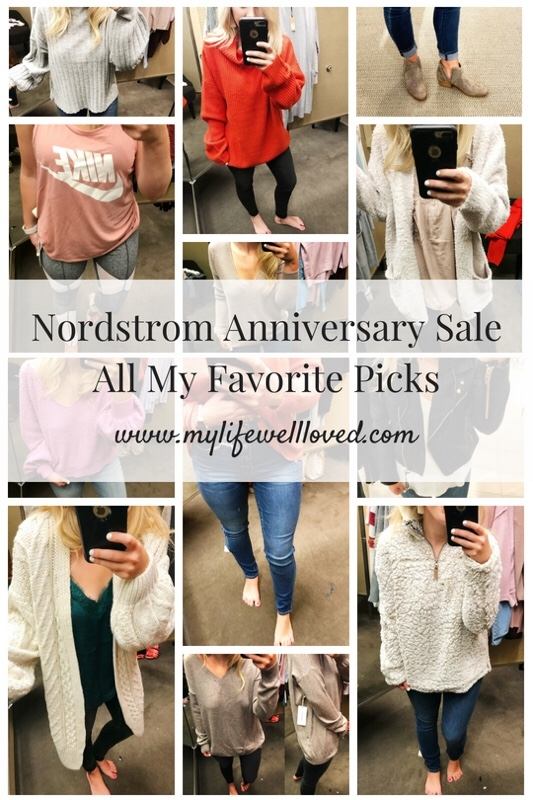 Nordstrom Anniversary Sale: All My Favorite Picks with dressing room try on from Birmingham fashion blogger My Life Well Loved