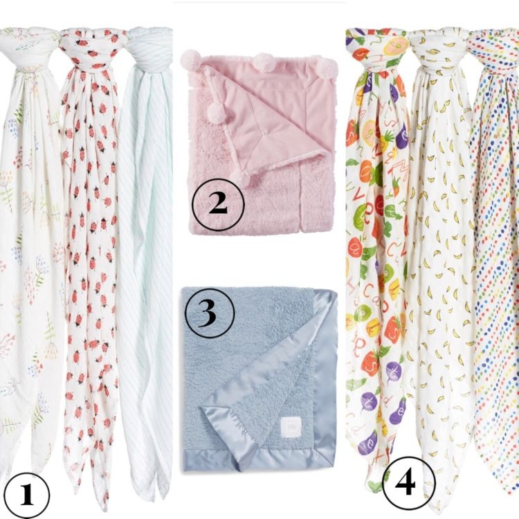 Nordstrom Anniversary Sale: Best of Baby & Maternity featured by popular Birmingham style blogger, My Life Well Loved: blankets