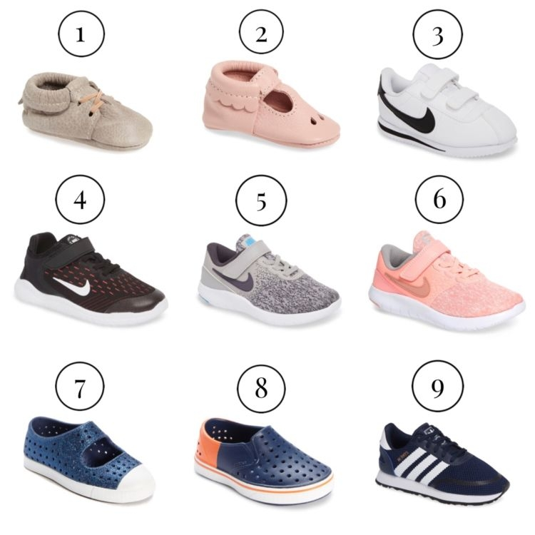 Nordstrom Anniversary Sale: Best of Baby & Maternity featured by popular Birmingham style blogger, My Life Well Loved: baby and kids shoes