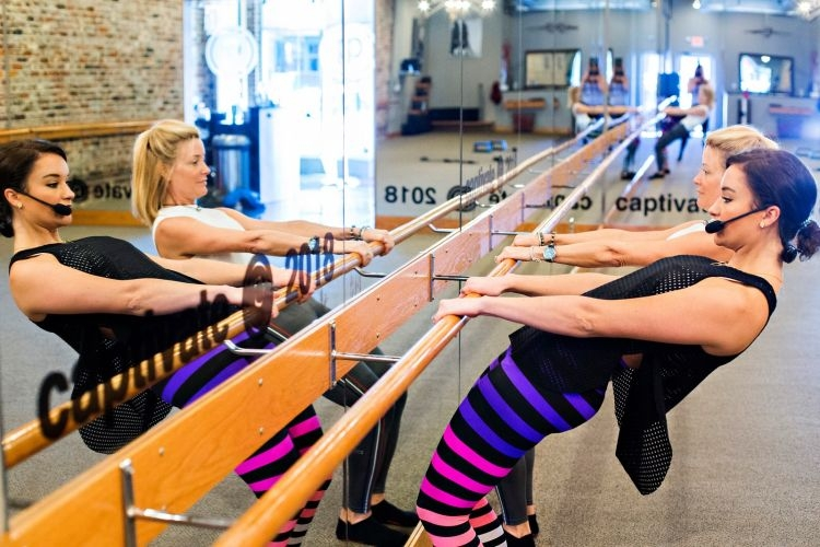 Sharing modifications for barre during pregnancy from a barre instructor on tips for any trimester by AL Blogger, Heather at MyLifeWellLoved // #barre #barreworkout #pregnancy #empower