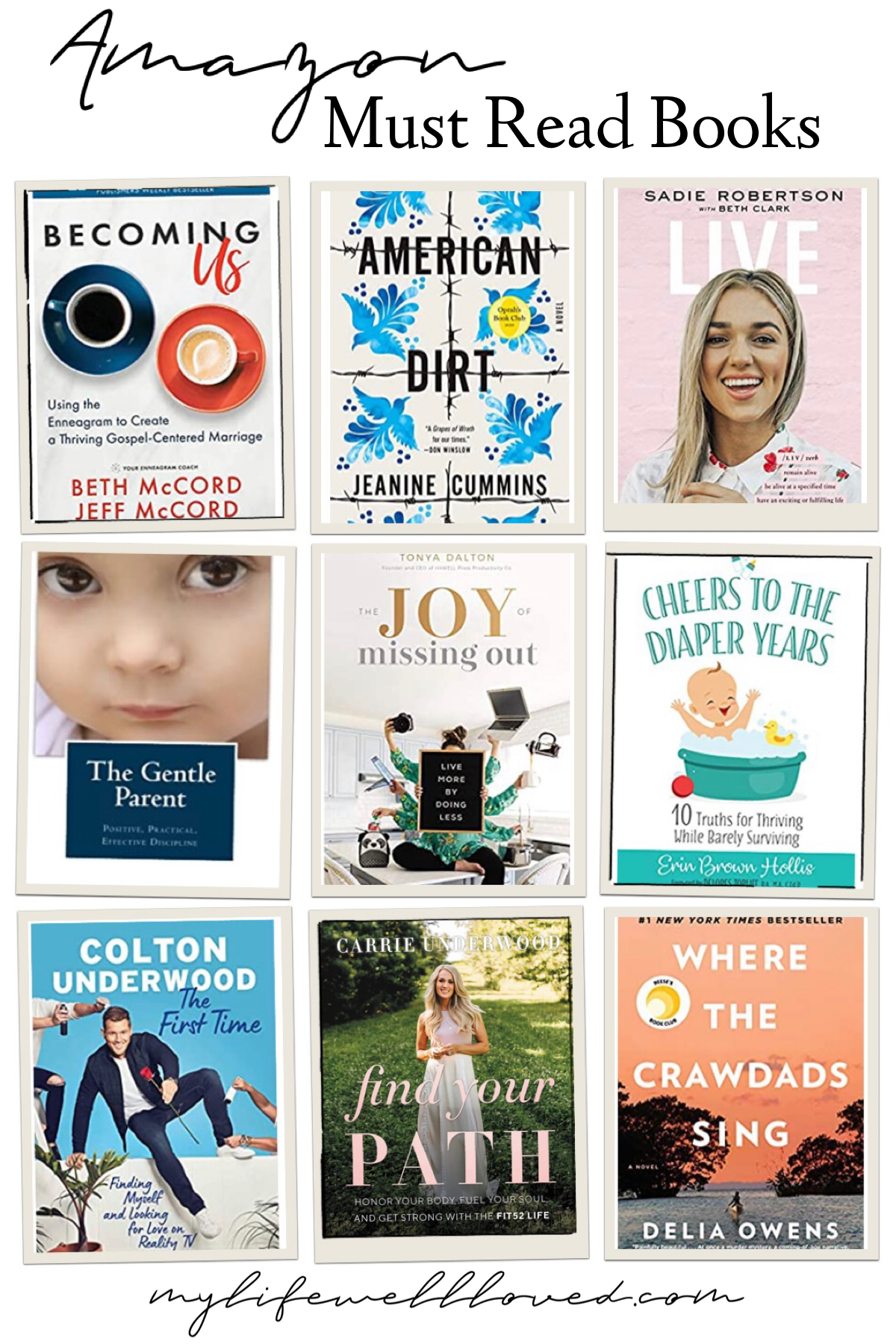 Best Books For Moms by Alabama Life + Mommy Blogger, Heather Brown // My Life Well Loved