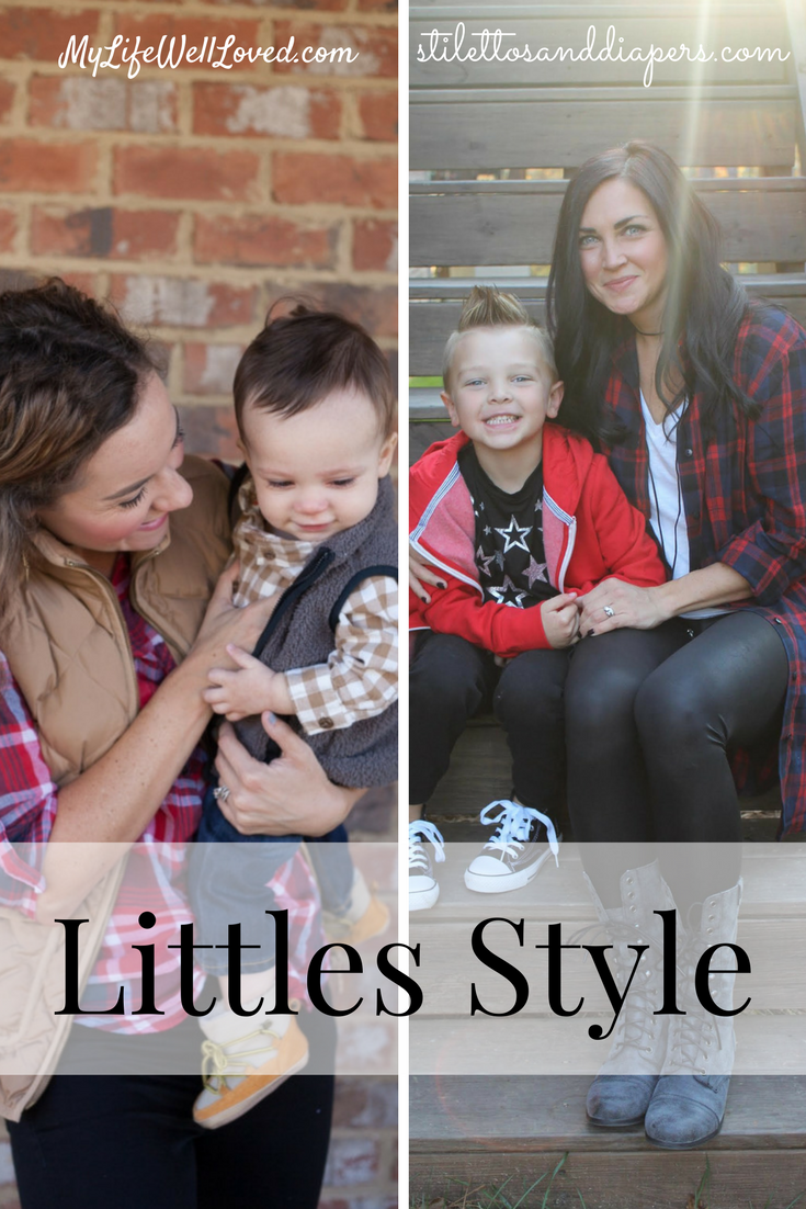 Littles Style Baby Boy and Mom Fashion Ideas from Heather of MyLifeWellLoved.com & Molly of Stilettos & Diapers