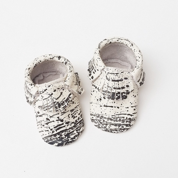 speckled kids moccs