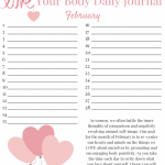 LOVE YOUR BODY Week 1: Body Positivity Printable
