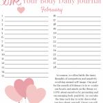LOVE YOUR BODY Week 1: Body Positivity Printable