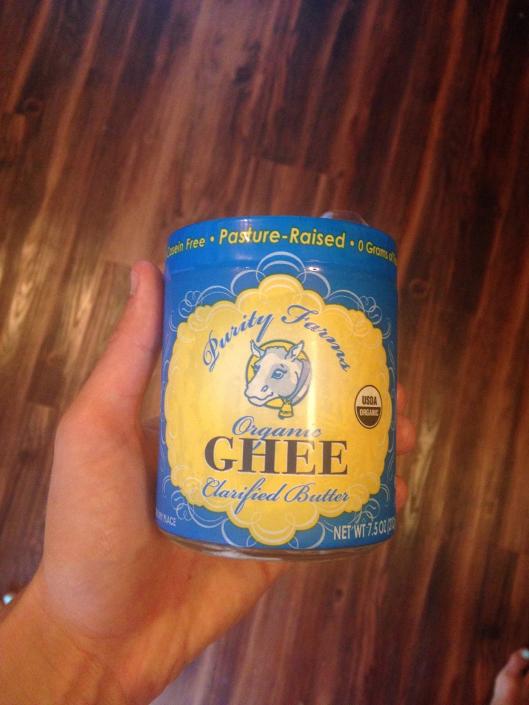 Whole 30 Approved Ghee: Can be found at The Fresh Market
