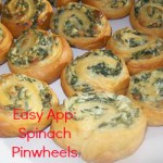 Easy Appetizer: Spinach Pinwheels