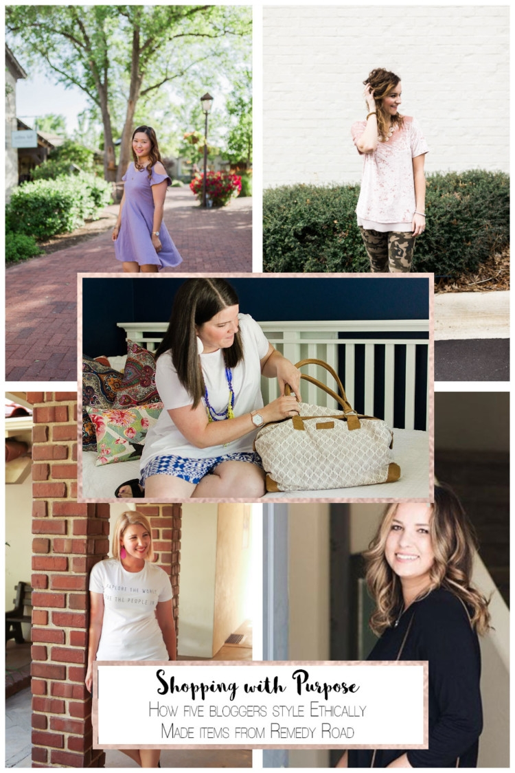 Remedy Road Ethically Made Items Styled by 5 Mom Fashion Bloggers