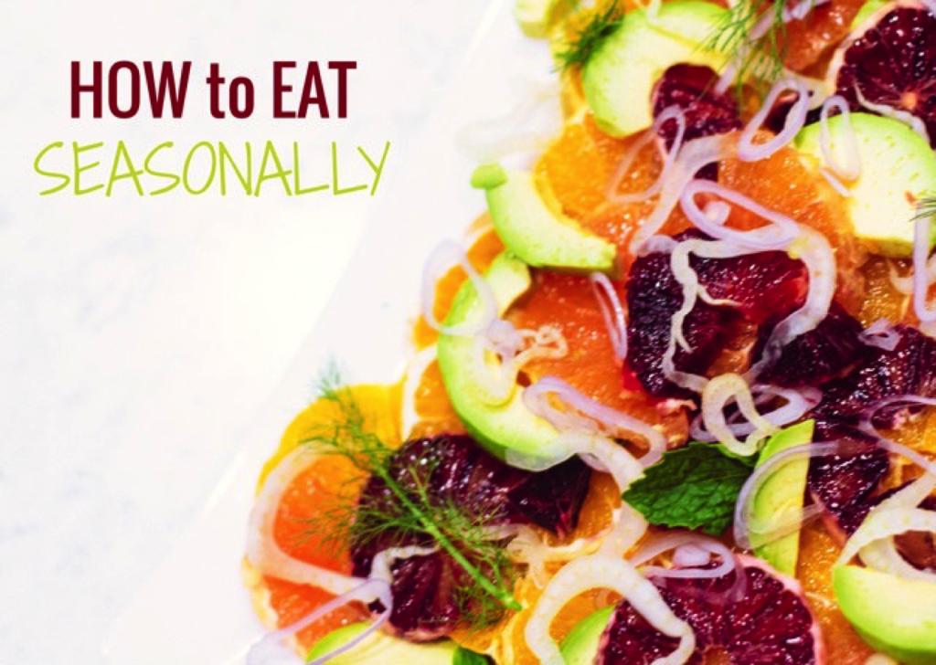 how to eat seasonally