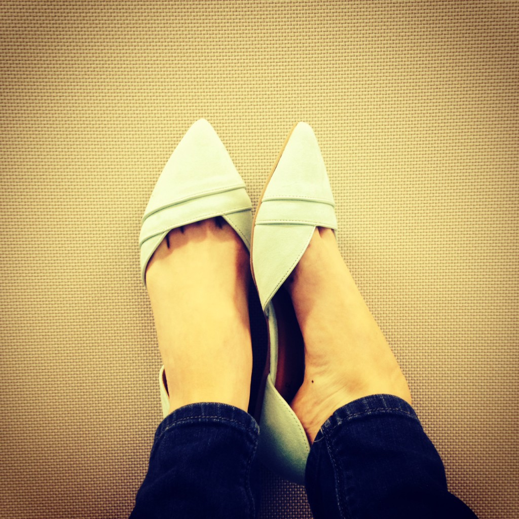 Cute shoes from My Life Well Loved