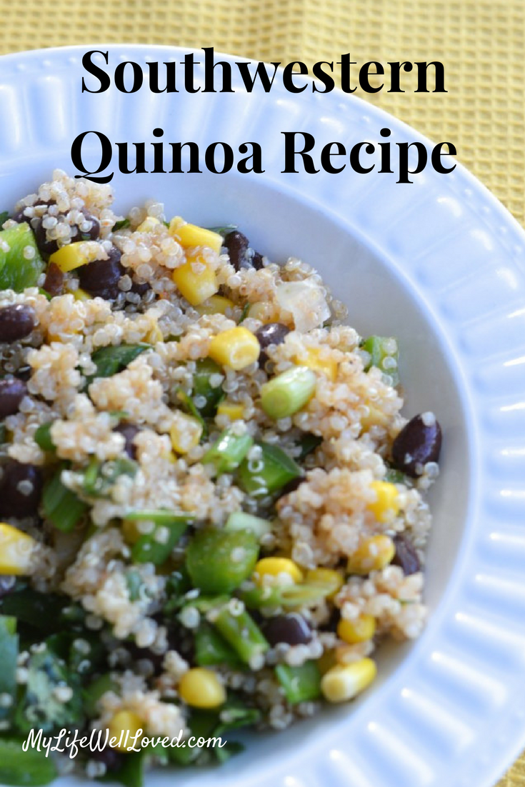 Light Summer Meal: Chilled Southwestern Quinoa