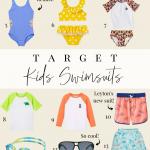 Littles Swim In Style: The Best Target Kids Swimwear