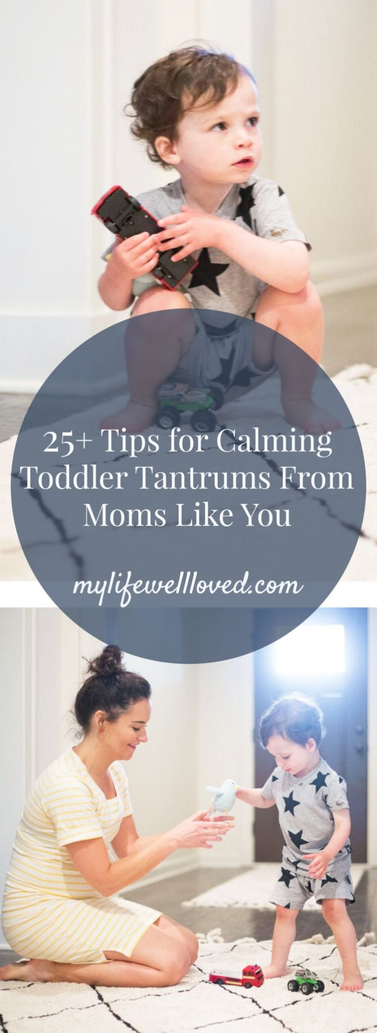How to Deal with Toddler Tantrums from over 50 moms! #toddler #momlife featured by popular Alabama lifestyle blogger, My Life Well Loved
