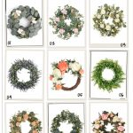 Amazon Favorites: 9 Summer + Spring Wreaths For Your Home